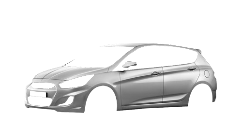 Цвета кузова Accent Hatchback